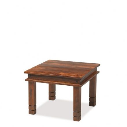 Jali Sheesham Wood Chunky Coffee Table